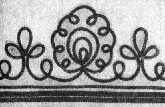 Вышивка шнуром орнамент 72